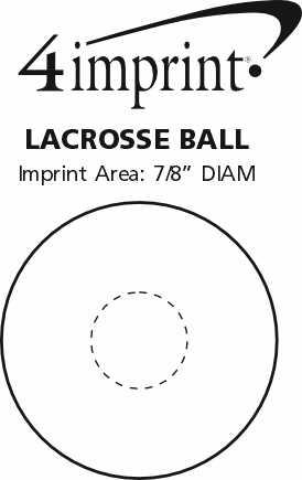 Imprint Area of Lacrosse Ball
