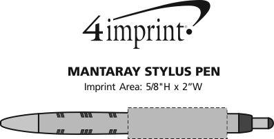 Imprint Area of Mantaray Stylus Pen