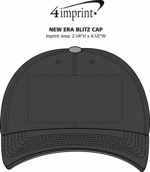 Imprint Area of New Era Blitz Cap