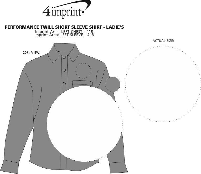 Imprint Area of Performance Twill Shirt - Men's