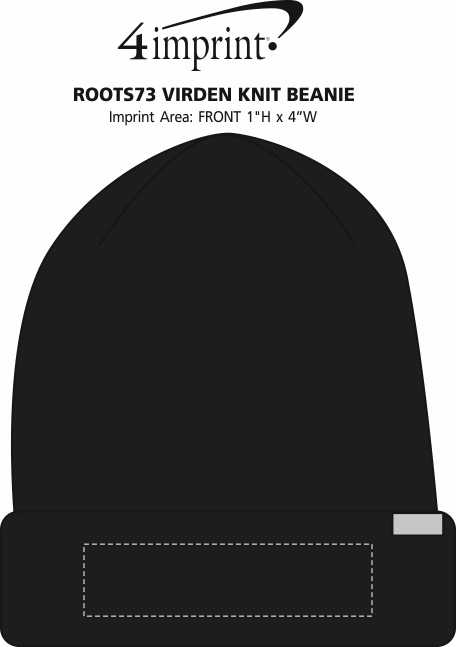 Imprint Area of Roots73 Virden Knit Beanie