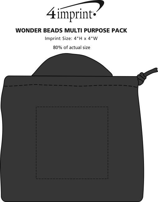 Imprint Area of Wonder Beads Multipurpose Pack