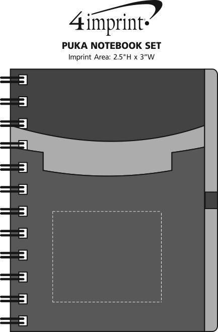 Imprint Area of Puka Notebook Set