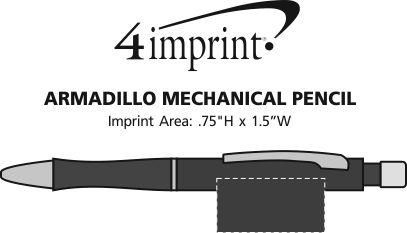 Imprint Area of Armadillo Mechanical Pencil