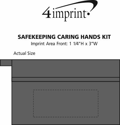 Imprint Area of Safekeeping Caring Hands Kit