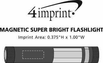 Imprint Area of Magnetic COB Flashlight