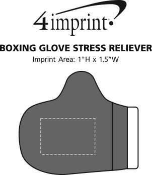 Imprint Area of Boxing Glove Stress Reliever