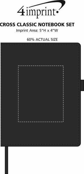 Imprint Area of Cross Classic Notebook Set