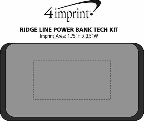 Imprint Area of Ridge Line Power Bank Tech Kit
