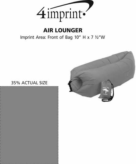 Imprint Area of Air Lounger