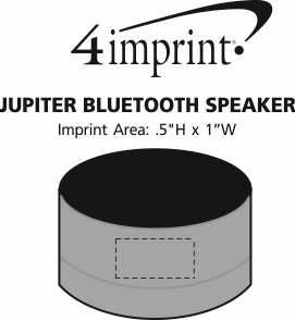 Imprint Area of Jupiter Bluetooth Speaker
