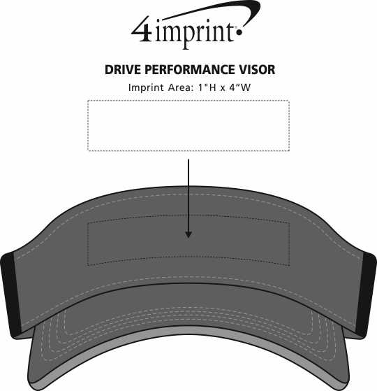 Imprint Area of Drive Performance Visor