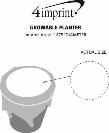 Imprint Area of Growable Planter