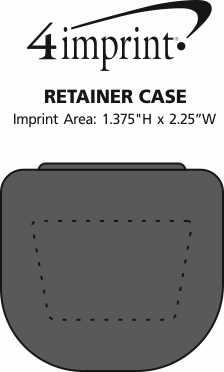 Imprint Area of Retainer Case