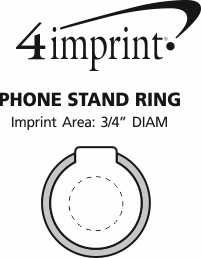 Imprint Area of Phone Stand Ring