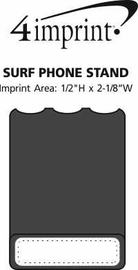 Imprint Area of Surf Phone Stand