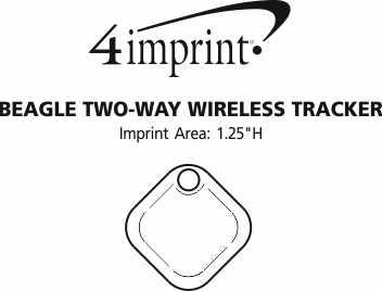 Imprint Area of Beagle Two-Way Wireless Tracker