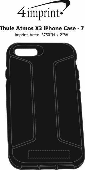 Imprint Area of Thule Atmos X3 iPhone Case - 7