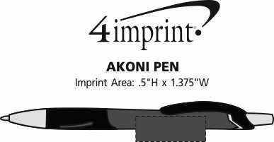Imprint Area of Akoni Pen