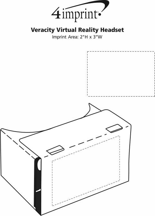 Imprint Area of Veracity Virtual Reality Headset