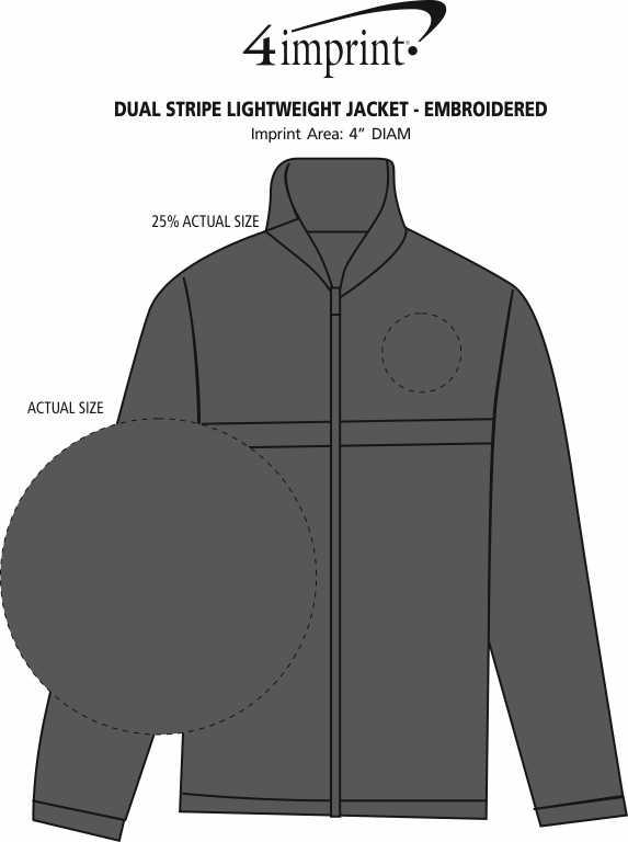 Imprint Area of Weather Resist Lightweight Jacket - Men's