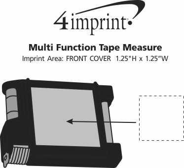 Imprint Area of Multifunction Tape Measure