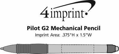 Imprint Area of Pilot G2 Mechanical Pencil