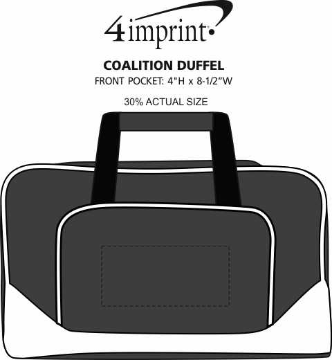 Imprint Area of Coalition Duffel