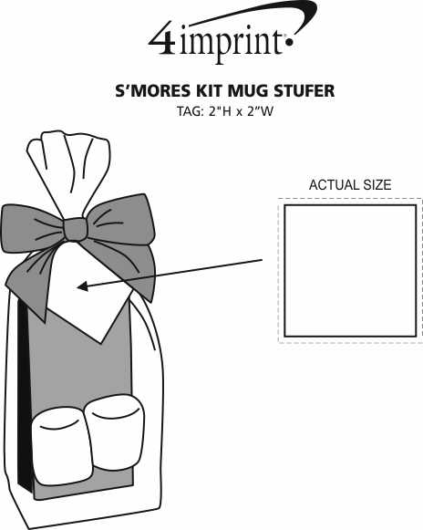 Imprint Area of S'mores Kit Mug Stuffer