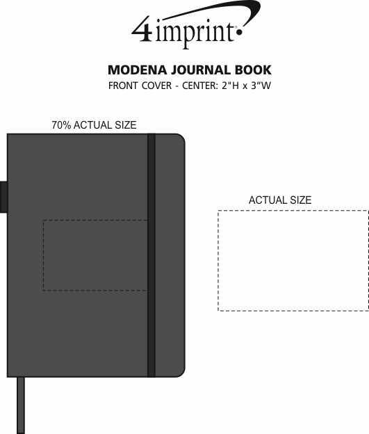 Imprint Area of Modena Journal Book