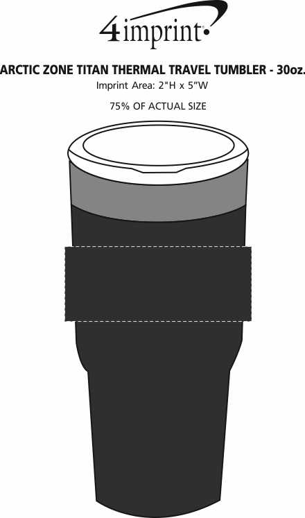 Imprint Area of Arctic Zone Titan Thermal Tumbler - 30 oz.
