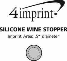 Imprint Area of Silicone Wine Stopper