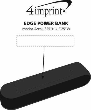Imprint Area of Edge Power Bank