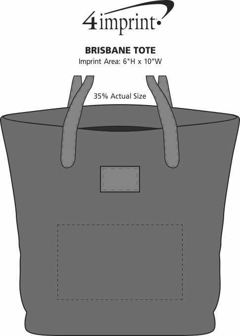 Imprint Area of Brisbane Tote