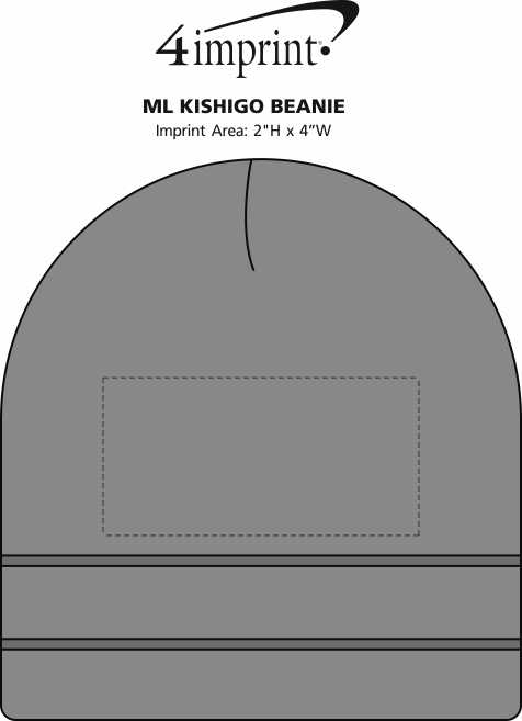 Imprint Area of ML Kishigo Beanie