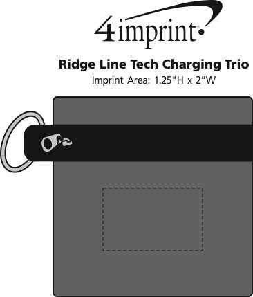 Imprint Area of Ridge Line Tech Charging Trio