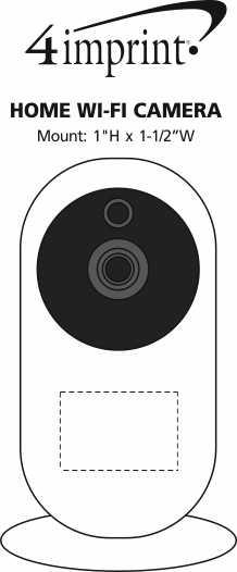 Imprint Area of Home Wi-Fi Camera