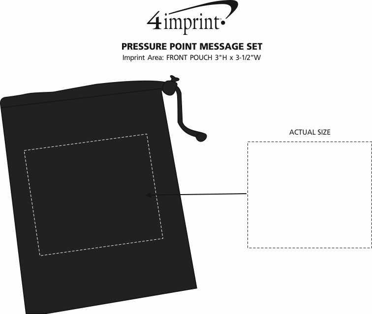 Imprint Area of Pressure Point Massage Set