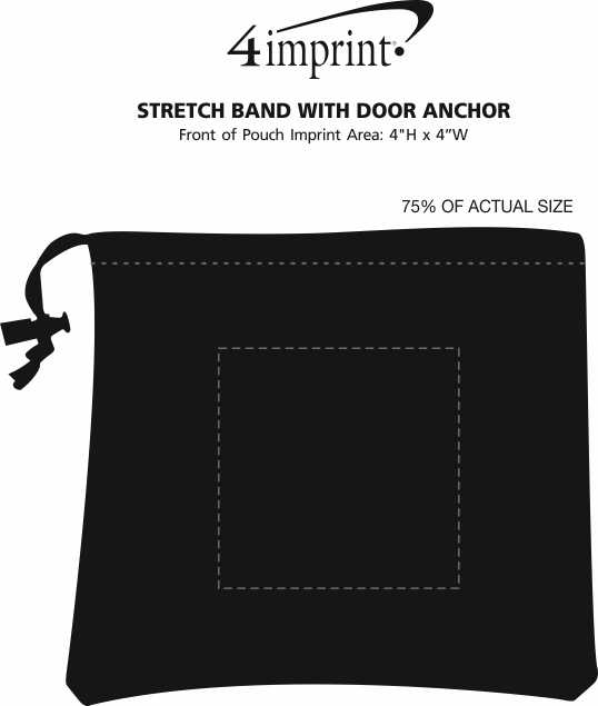 Imprint Area of Stretch Band with Door Anchor