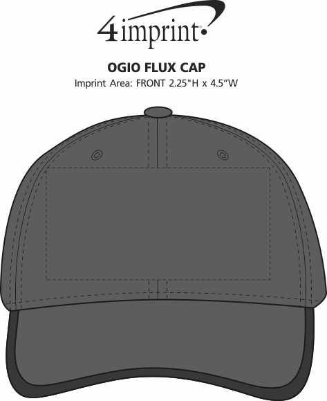 Imprint Area of OGIO Flux Cap