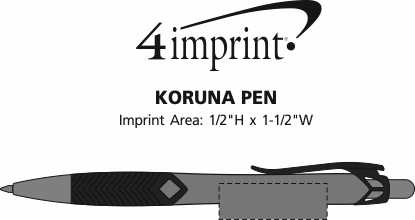 Imprint Area of Koruna Pen