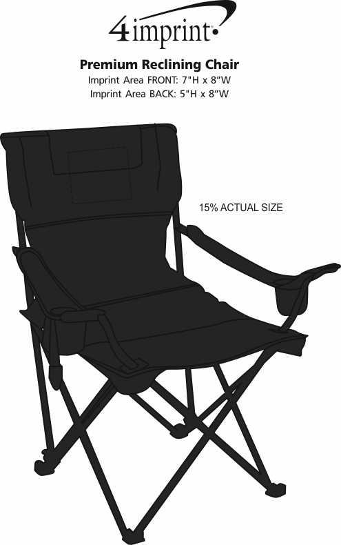 Imprint Area of Premium Reclining Chair
