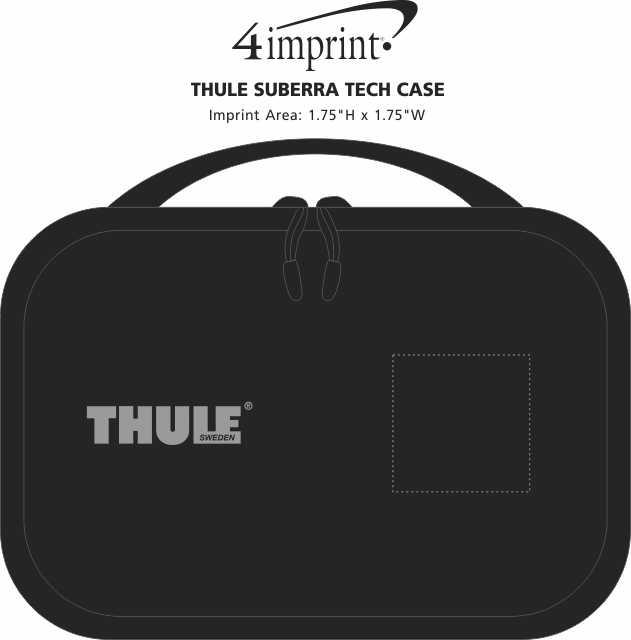 Imprint Area of Thule Subterra Tech Case