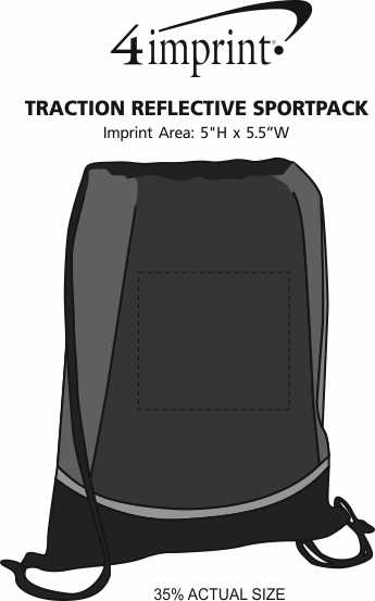 Imprint Area of Traction Reflective Sportpack