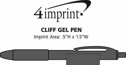 Imprint Area of Cliff Gel Pen