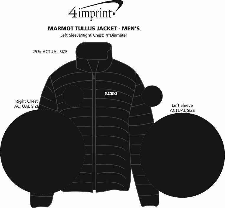 Imprint Area of Marmot Tullus Jacket - Men's