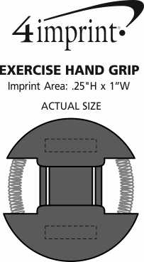 Imprint Area of Exercise Hand Grip