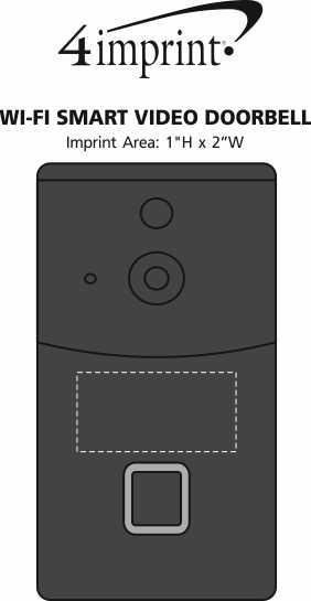 Imprint Area of Wi-Fi Smart Video Doorbell