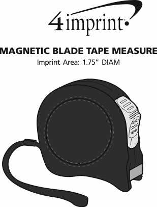 Imprint Area of Magnetic Blade Tape Measure