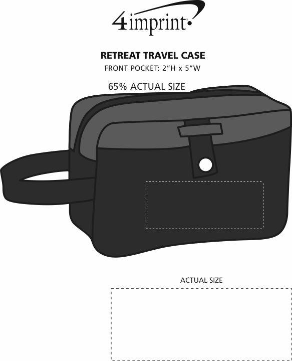 Imprint Area of Retreat Travel Case